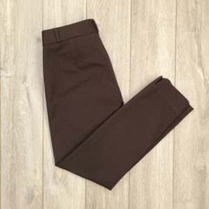 Banana Republic Black Sloan fit work pants